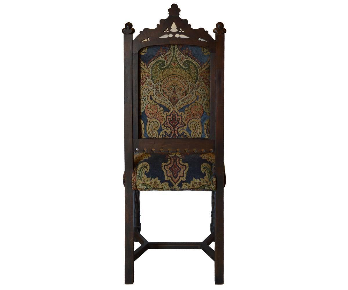 Gothic Style Dining Room Sets Set of antique gothic style  : gothicdiningsetchairbackz from ubermed.us size 1200 x 1000 jpeg 50kB