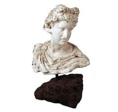 Apollo Bust Sculpture Antique Style