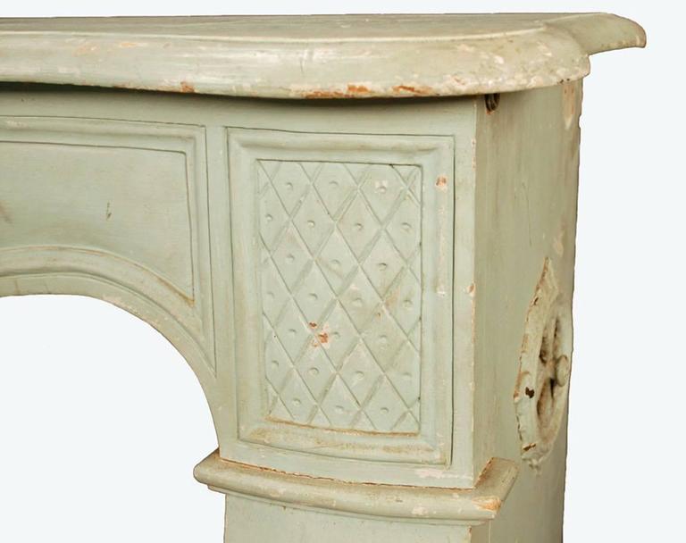 Table Wood Fireplace Surround Mantel Decorative