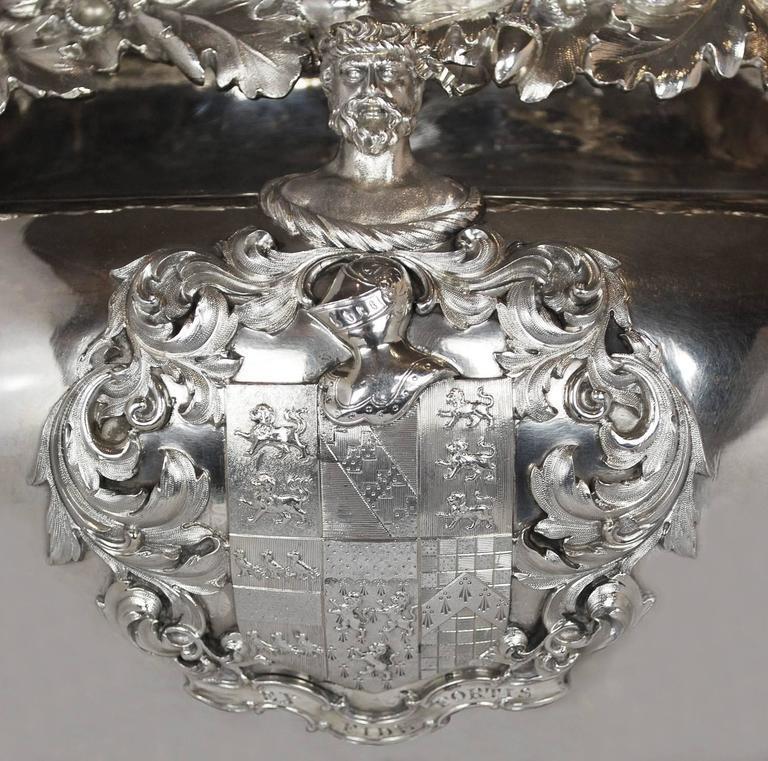 Paul storr silver centerpiece vase urn georgian antique