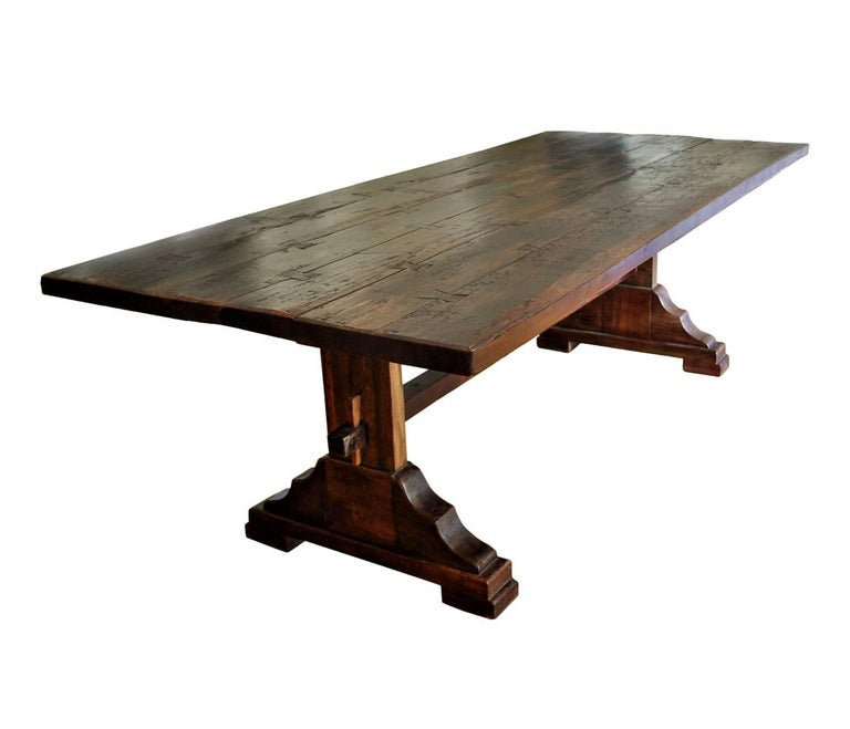 Trestle Dining Table Sale Farm Or