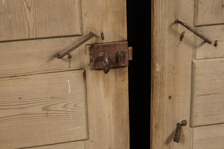 Pair of Primitive Doors from Sweden, circa 1820 For Sale 1