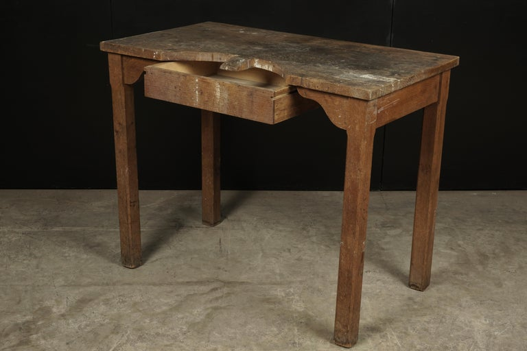 European Rare Jewelers Table From France, circa 1940 For Sale