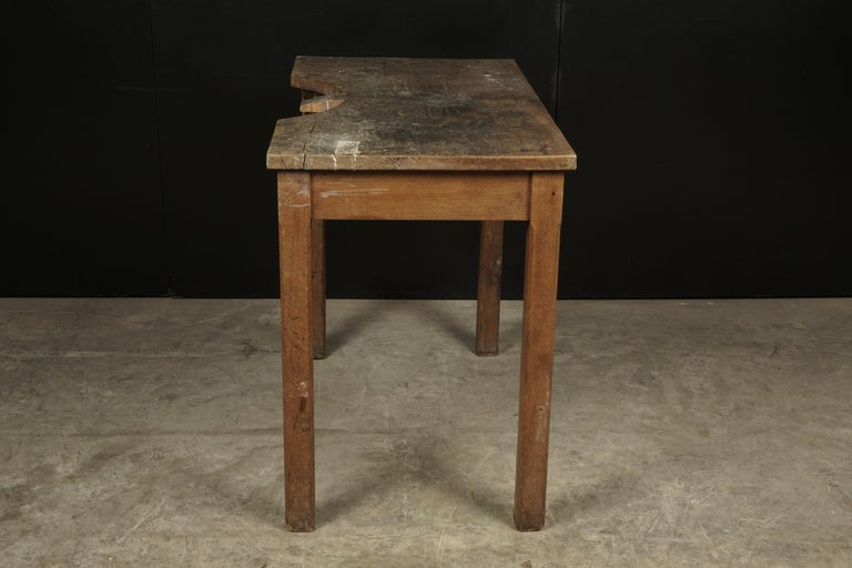 Rare Jewelers Table From France, circa 1940 In Good Condition For Sale In Nashville, TN