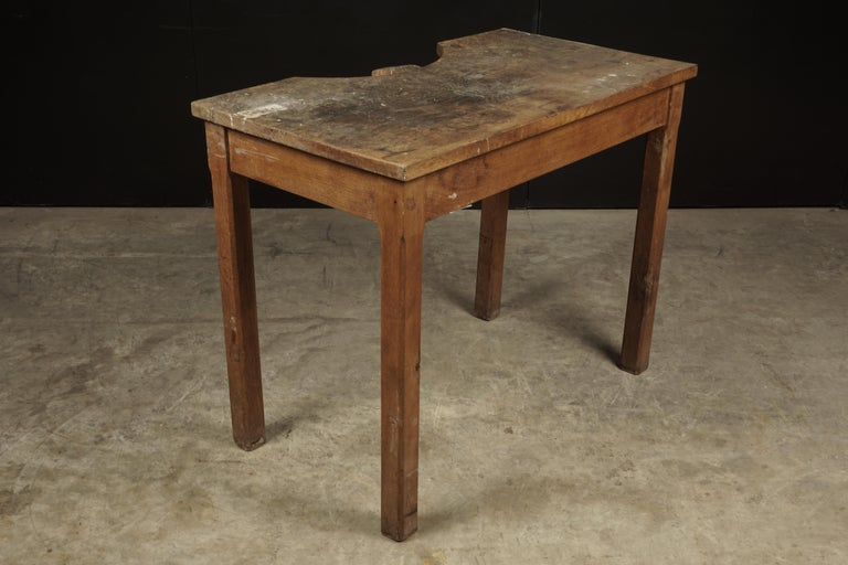 Mid-20th Century Rare Jewelers Table From France, circa 1940 For Sale