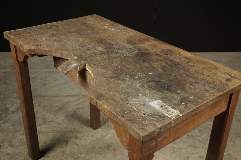 Rare Jewelers Table From France, circa 1940 For Sale 1