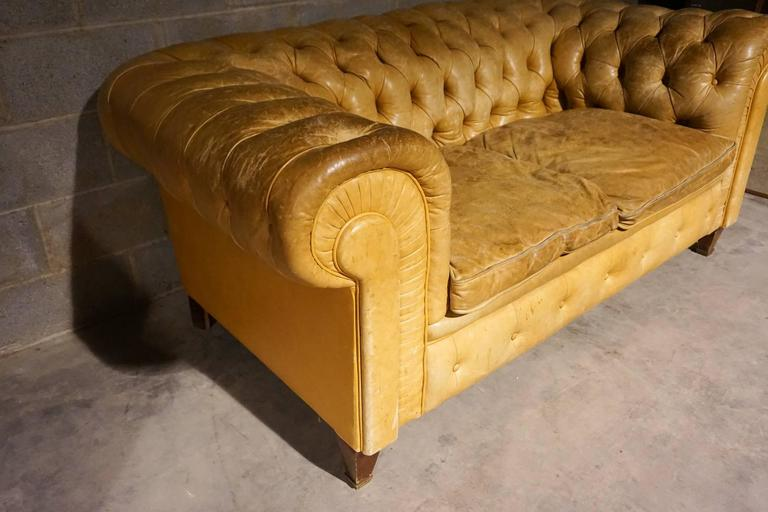 Chesterfield Leather Sofa Circa 1920s For Sale At 1stdibs