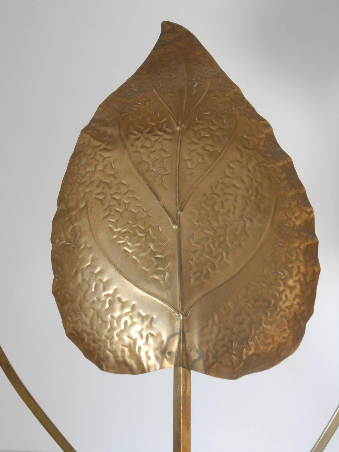 Rhubarb Leaves Floor Lamps By Tommaso Barbi For Sale At