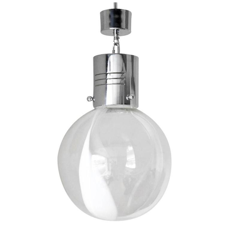 Membrana Globe Pendant by Toni Zuccheri for Venini