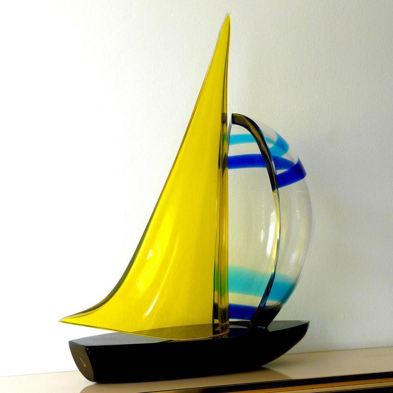 Murano Sailboat by Romano Dona' 3