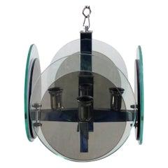 Disc Pendant by Cristal Art