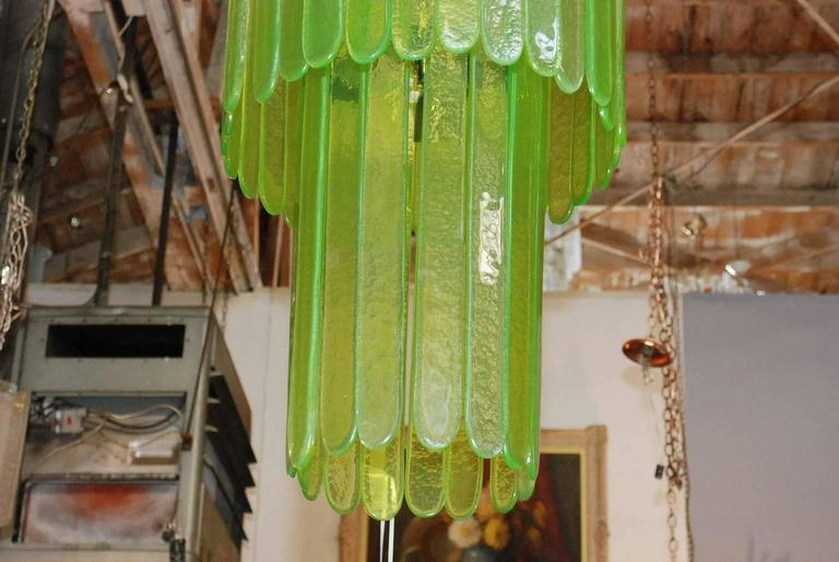 Mid-Century Modern Cascade Chandelier by Leucos For Sale