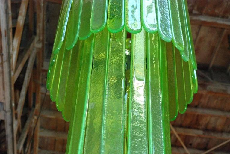 Cascade Chandelier by Leucos In Good Condition For Sale In Palm Springs, CA
