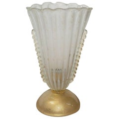 Murano Scalloped Lamp