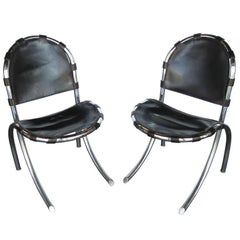 Pair of Mid-Century Chairs by Tetrarch Bazzani Intl Studio FINAL CLEARANCE SALE