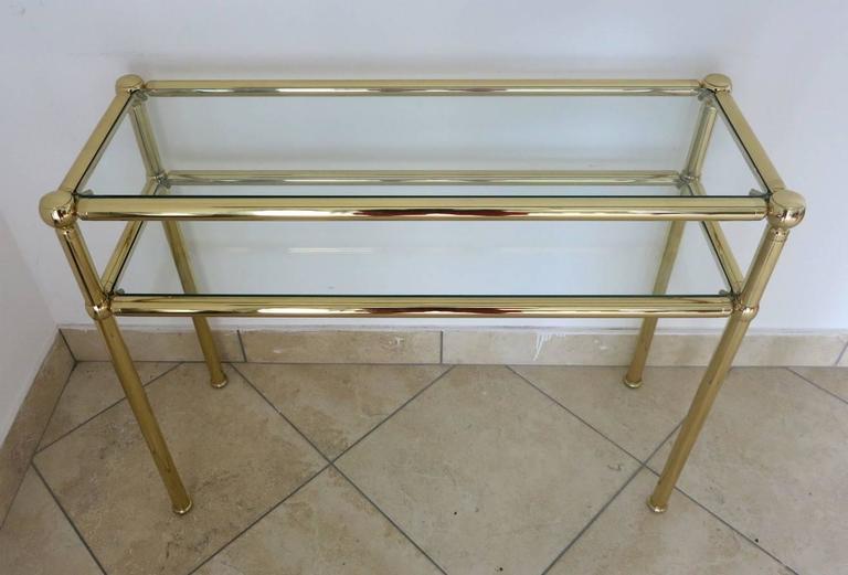 Mid-Century Modern Italian Mid-Century Console Tables For Sale