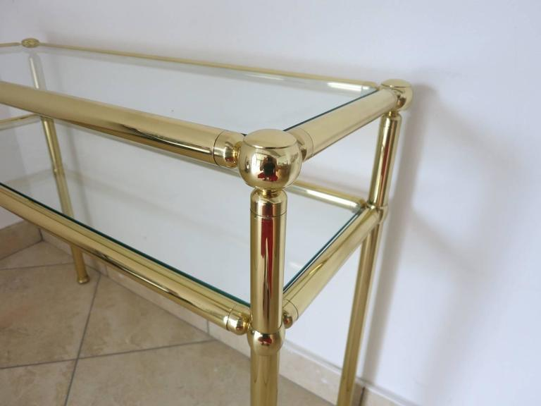 Italian Mid-Century Console Tables In Excellent Condition For Sale In Palm Springs, CA