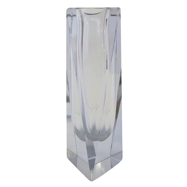 Mandruzzato Murano Art Glass Vase By Cavagnis For Sale At 1stdibs