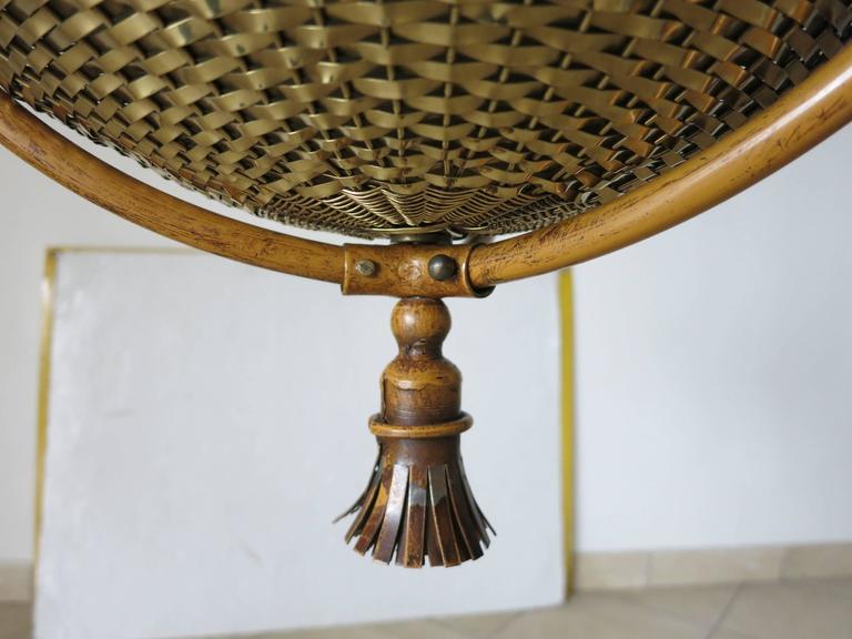 Italian Vintage Chandelier by Banci Firenze For Sale 2