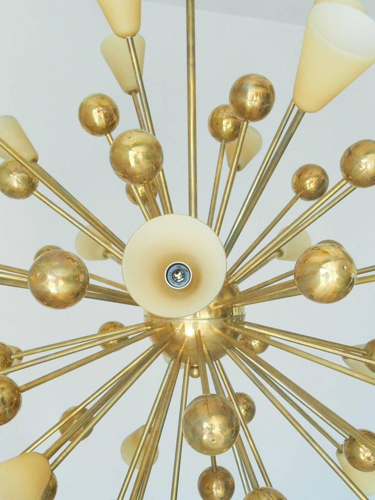 Italian Shades Sputnik Chandelier For Sale