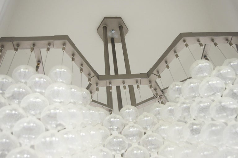 Large Tulipan Chandelier by Kalmar For Sale 1