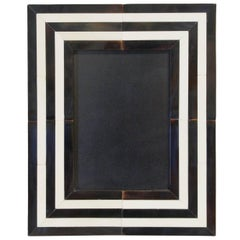 Black and White Horn Photo Frame by Fabio Ltd.