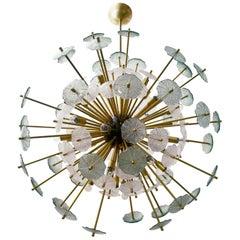 Großer Sonnenschirm Sputnik Kronleuchter von Fabio Ltd.
