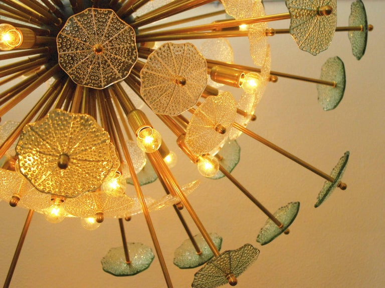 Italian Parasole Sputnik Chandelier by Fabio Ltd For Sale
