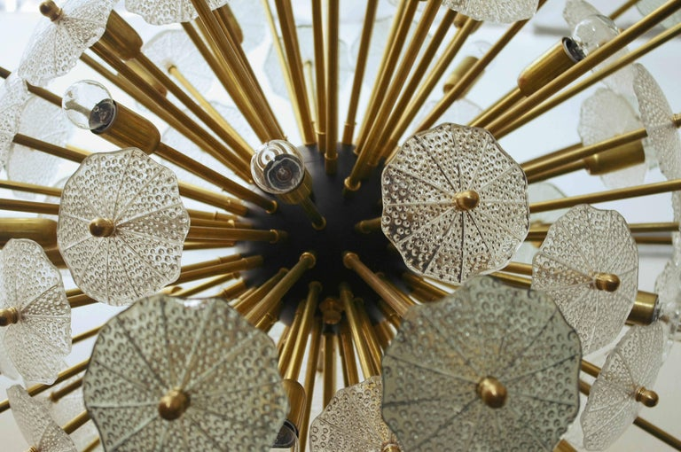 Contemporary Parasole Sputnik Chandelier by Fabio Ltd For Sale