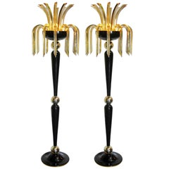 Pair of Pharaoh Floor Lamps by Fabio Ltd