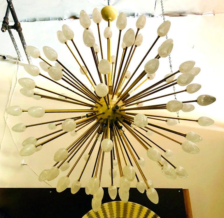 Modern Uovo Sputnik Chandelier by Fabio Ltd For Sale