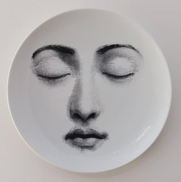 """Set of Four Piero Fornasetti """"Tema e Variazioni"""" Plates 9"""