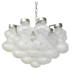 Italian Murano Glass Barbells Chandelier by Vistosi