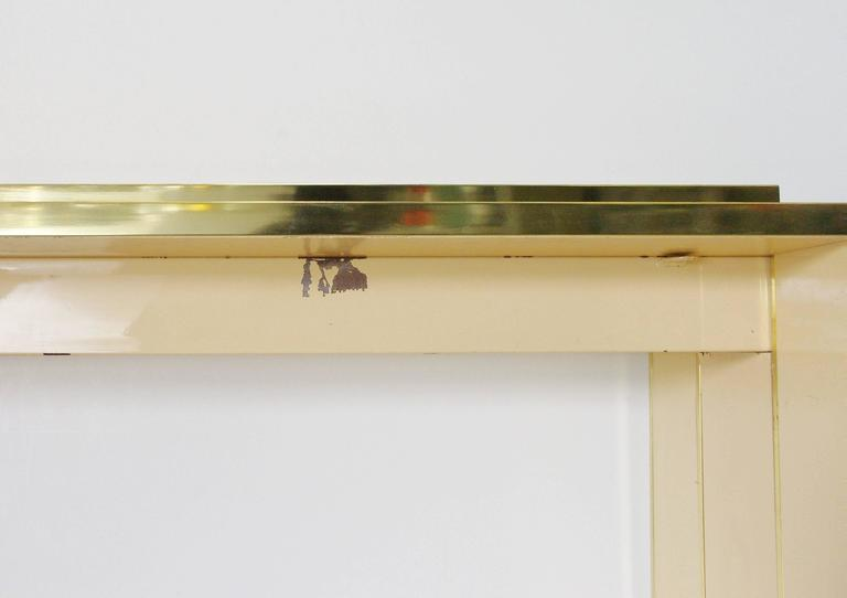 Lacquered Console Table by Alain Delon for Maison Jansen For Sale 2