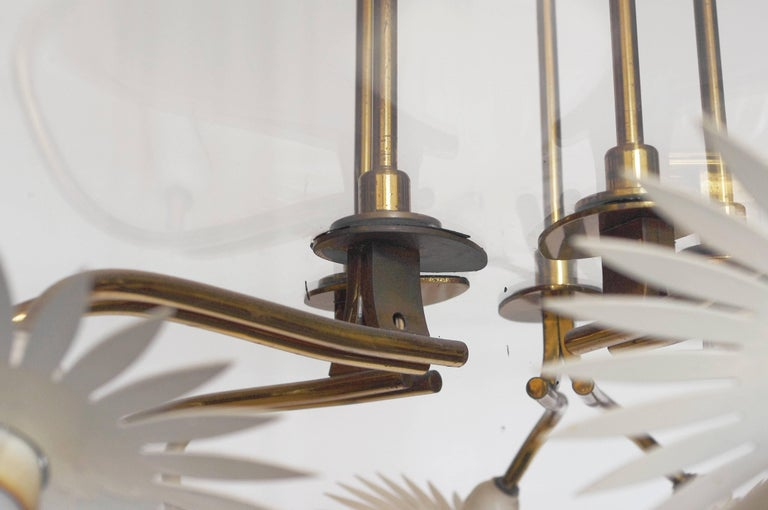 20th Century Pietro Chiesa Chandelier for Fontana Arte For Sale