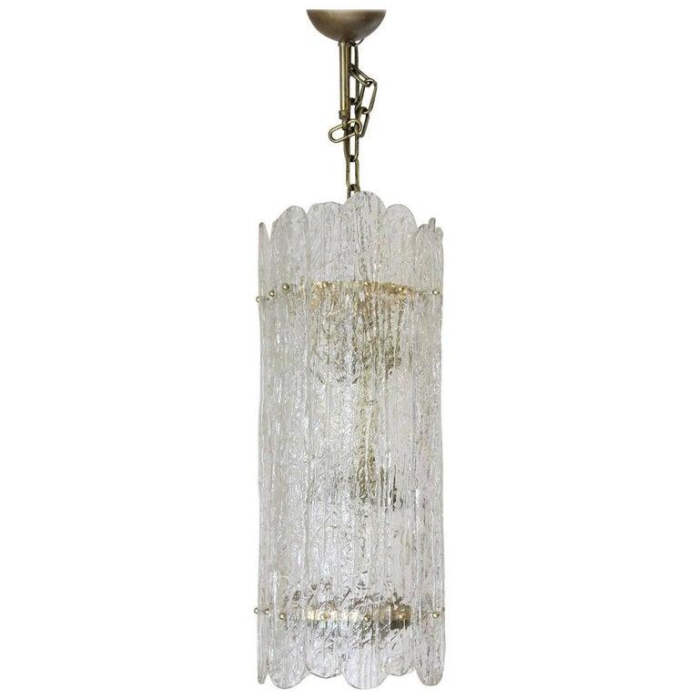 Italian Vintage Murano Glass Pendant For Sale