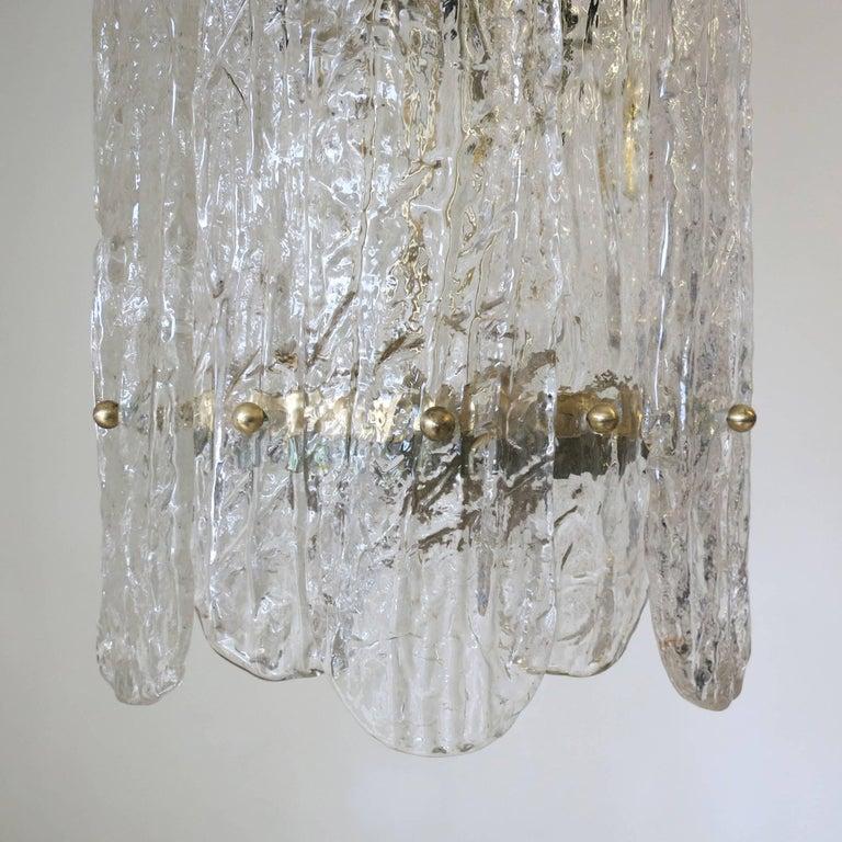 20th Century Italian Vintage Murano Glass Pendant For Sale