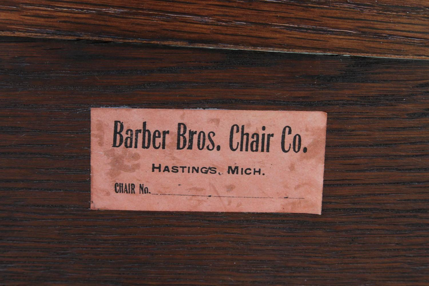 Barber Brothers : Barber Brothers Arts and Crafts Hall Bench, circa 1900-1910 For Sale ...