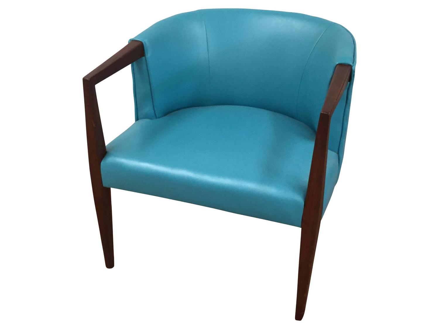 Vinyl Chairs For Sale Set Of Mid Century Modern Chrome