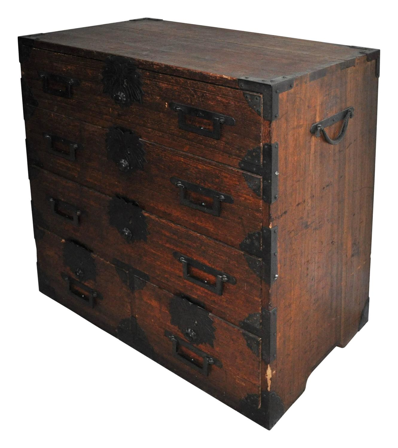Japanese tansu chest at 1stdibs for Furniture repair tokyo