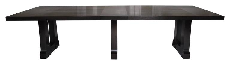 Contemporary Christian Liaigre for Holly Hunt Dining Table