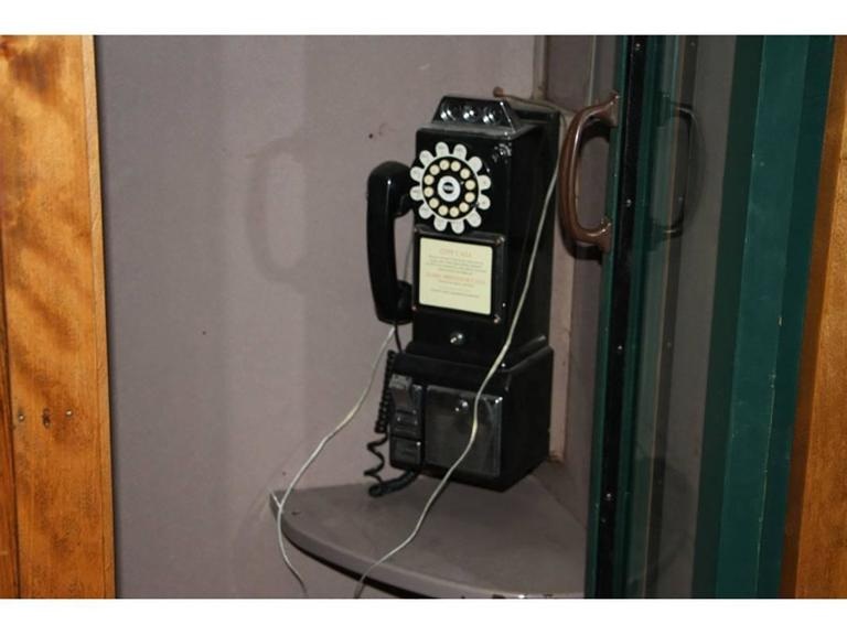 Vintage 1950s Era Interior Phone Booth At 1stdibs