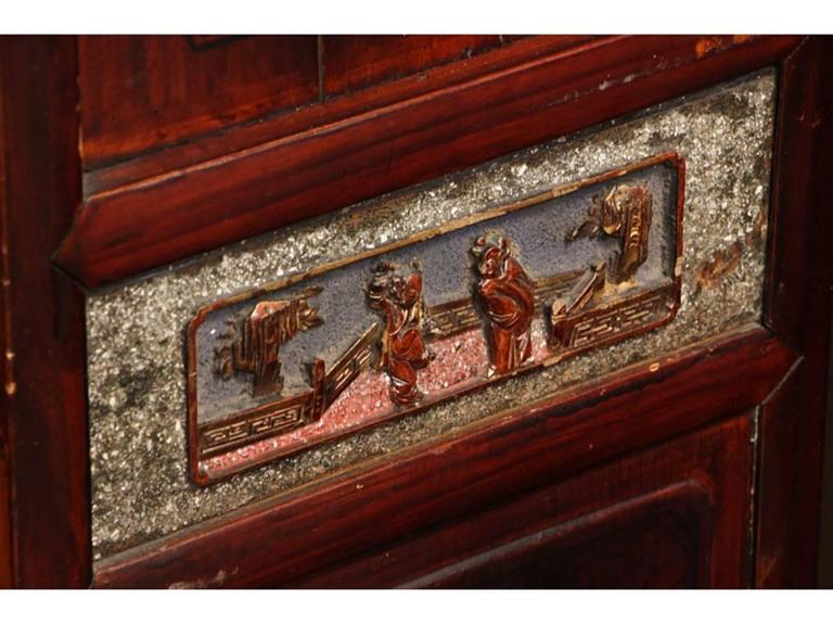 Antique Chinese Eight-Panel Screen 1