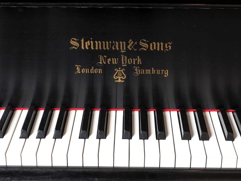 1917 Steinway Baby Grand Piano Model A 5