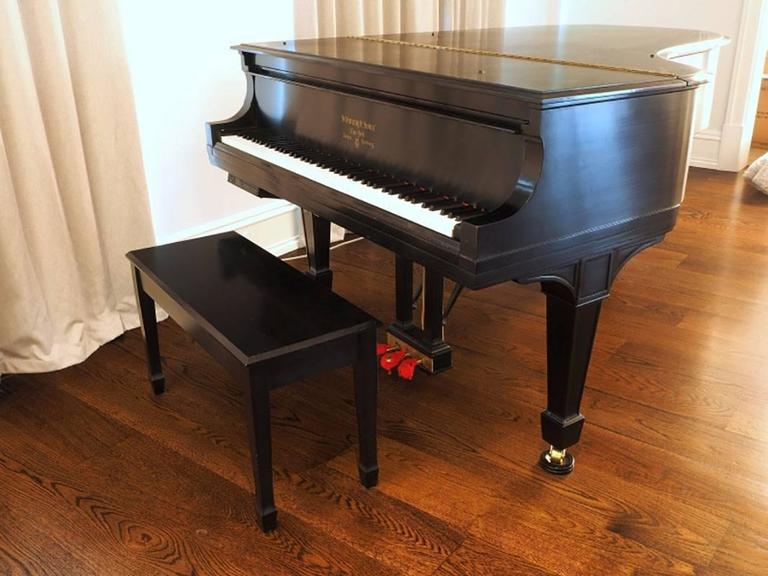 1917 Steinway Baby Grand Piano Model A 9