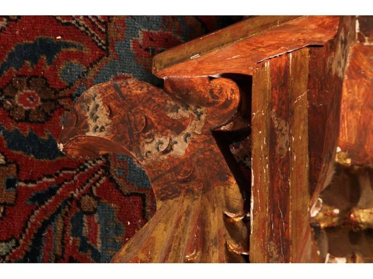 Gesso Antique Venetian Torchier For Sale