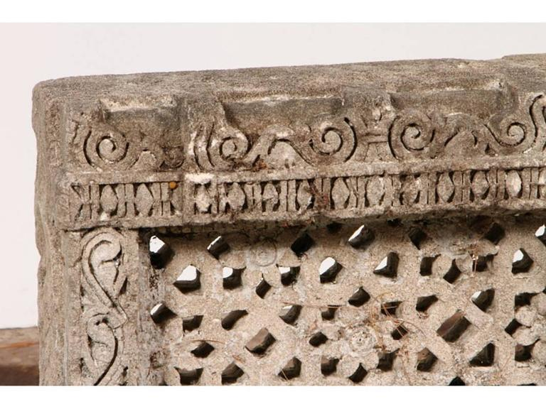 18th century n india carved sandstone palace window for for 18th century window