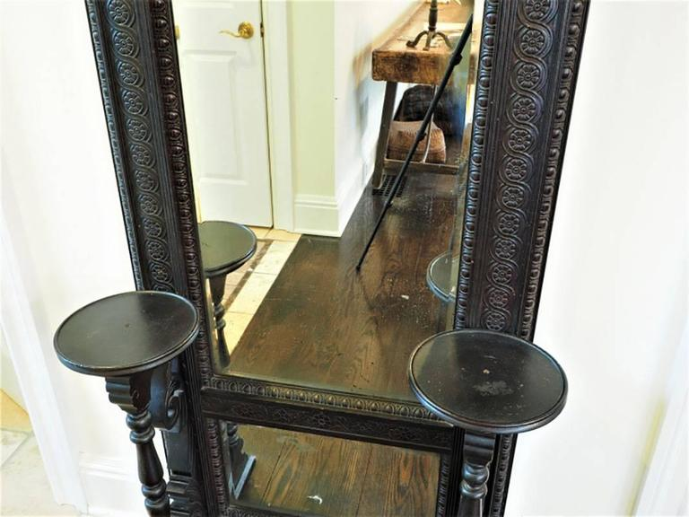 Aesthetic Movement Pier Mirror In Good Condition For Sale In Bridgeport, CT