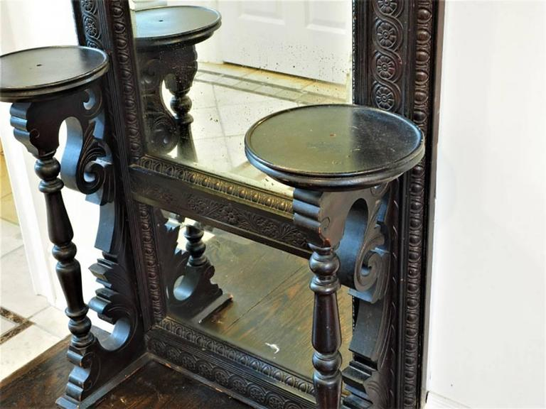 19th Century Aesthetic Movement Pier Mirror For Sale