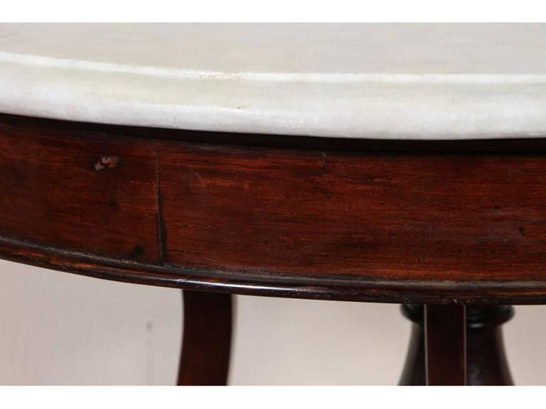 antique marble-top occasional table for sale at 1stdibs